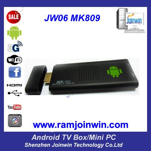 Jw06 Mk809 Bluetooth Google 4 1 Mini Pc Android Dual Core