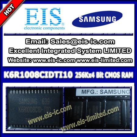 K6r1008cidti10 Samsung Ic 128k X 8 Bit Static Ram High Speed Tsop 32