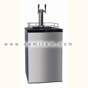 Kegerator Double Tap Kegerators Stainless Steel