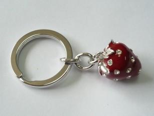 Key Chain Strawberry Shape