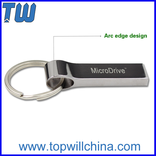 Key Ring For Free Solid Metal Usb 3 0 Flash Drive Noble Design
