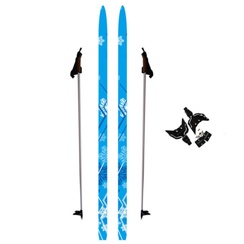 Kids Cross Country Skis Set