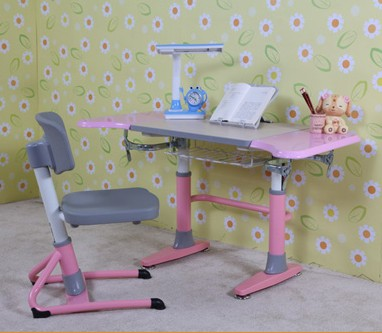 Kids Furniture Tuv Height Adjustable Study Desk And Chair