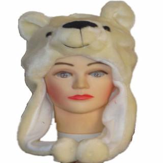 Kids Winter Wool Cute Animal Hats