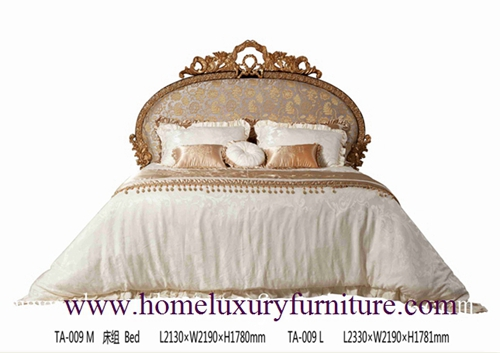 King Beds Queen Solid Wood Bed Supplier Italy Style Europe Classic Ta 009