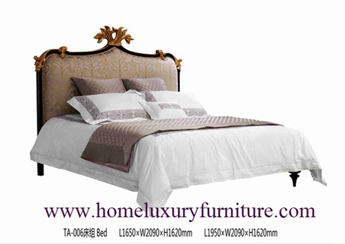 King Beds Royal Luxury Bed Solid Wood Supplier Italy Style Europe Classic Ta 006