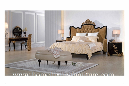 Kingbed Classic Bedroom Sets Hight Quality France Style Furniture Price Ta 003