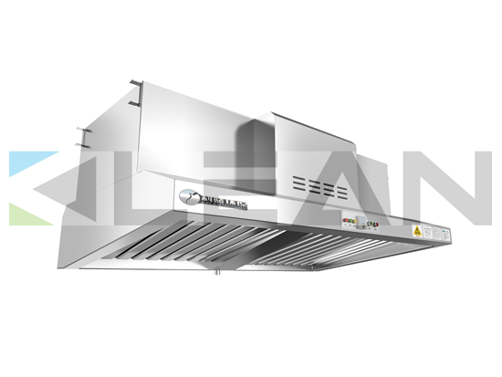 Kitchen Hood With Hepa Equipment For Restaurant Smoke Solution