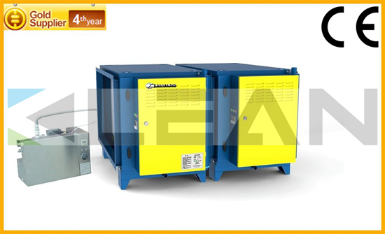 Kitchen Oil Fume Extractor For Emission Control