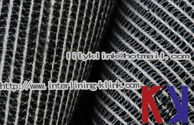 Knitted Double Dot Pa Coated Fusible Suit Interlining