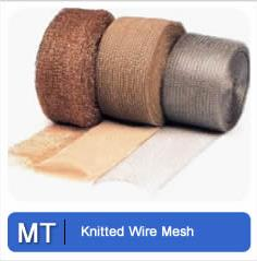 Knitted Wire Mesh Metal Tec