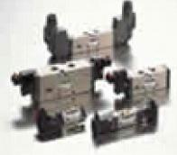Konan New Magstar 5 Port Solenoid Valves Direct Piping Type 454 Series Spool