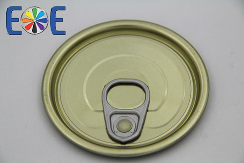 Korea 211 65mm Tinplate Luncheon Meat Can Easy Open Cap