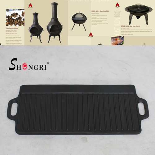 Korea Cast Iron Bbq Grill Pan