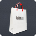 Kraft Paper Bags With Rigid Handle