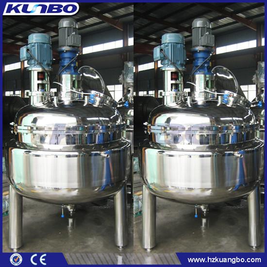 Kunbo Stainless Steel Beverage Food Cooking Mixing Tank Equipment