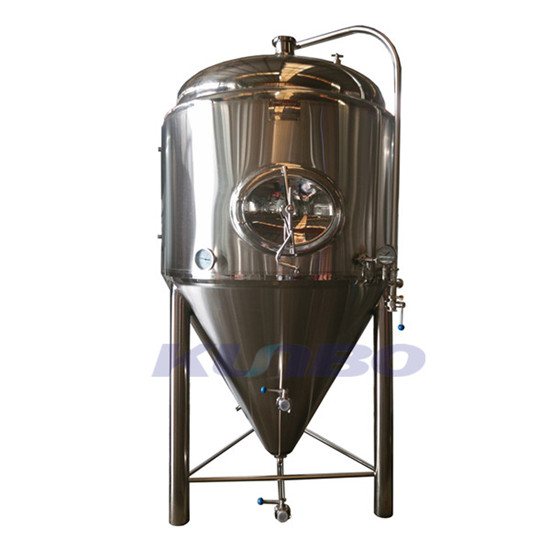 Kunbo Stainless Steel Conical Beer Brewing Equipment Fermenter Tank