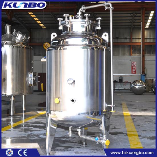 Kunbo Stainless Steel Wine Beer Bright Storage Tank