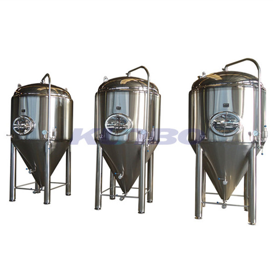 Kunbo Sus 304 316 Conical Beer Wine Brewery Fermenter Brewing Storage Tank
