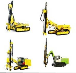Ky120 Mobile Mining Drilling Rig