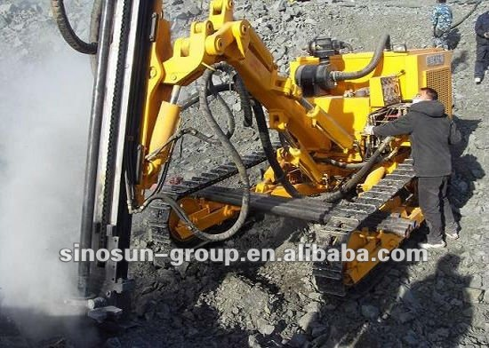 Ky125 Hydraulic Drilling Rig Diameter 80 115mm Depth18 40m