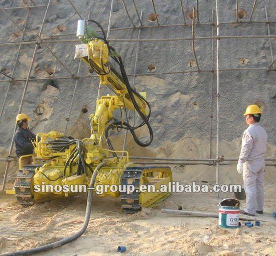 Ky140 Hydraulic Drilling Rig