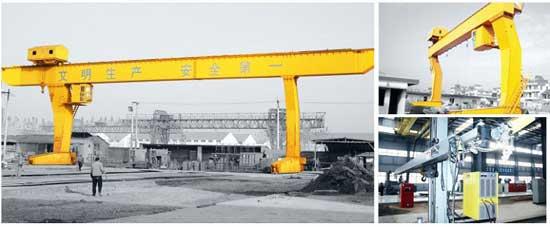 L Type Gantry Crane Is Single