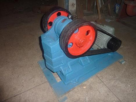 Laboratory Sealed Jaw Crusher