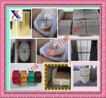 Lacquered Varnished Aluminum Strip For Pharmaceutical Vial Seals