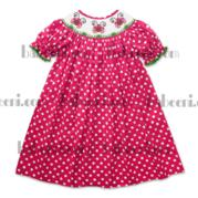Lady Bugs Smocked Dress Dr 1531