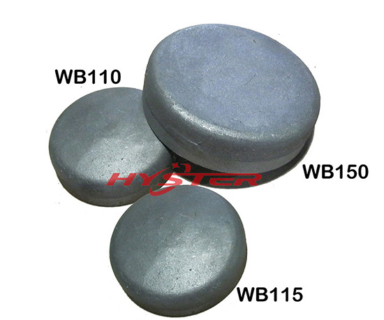Laminated Wear Buttons White Iron For Bucket Repair And Protection 63hrc 700hb