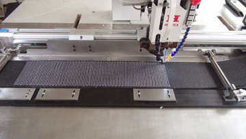 Large Area Grammable Pattern Sewing Machine For Extra Heavy Synthetic Slings Straps And Belts