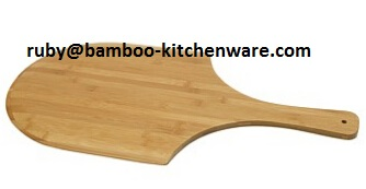 Large Bamboo Pizza Paddle Serving Board
