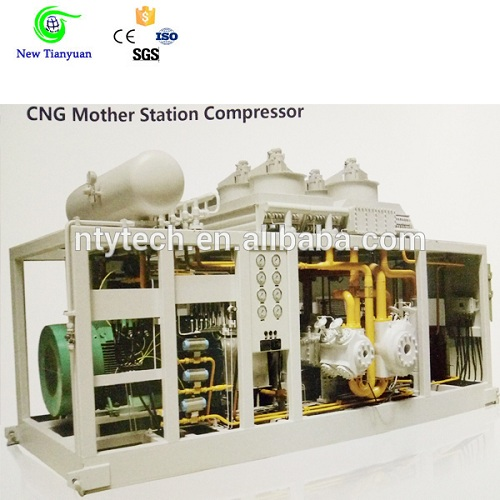Large Capacity 900 1500nm3 H Cng Compressor For Filling Station