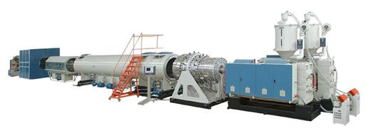 Large Diameter Hdpe Water Supply And Gas Pipe Extrusion Line