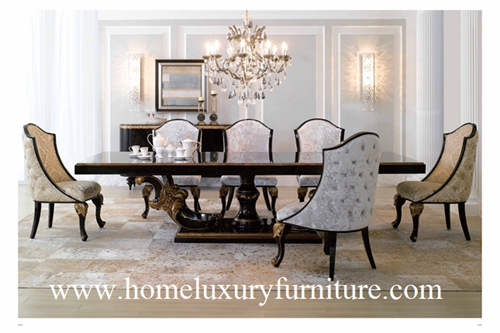 Large Dining Table 8 Square And Chairs Room Furniture