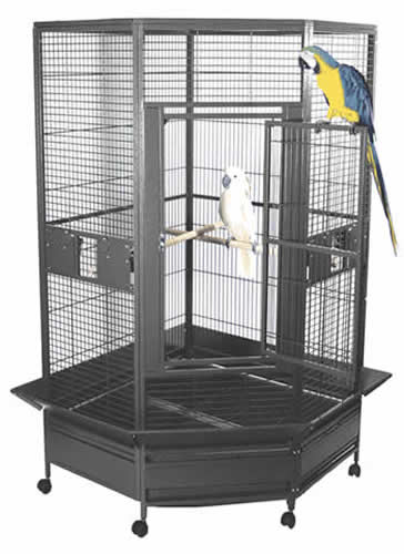 Large Flight Cage For Amazon Macaw African Greys And Cockatoos