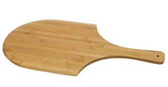 Large Food Cookware Pizza Bamboo Paddle Serving Board