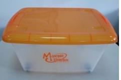 Large Hot Wheels Plastic Storage Box
