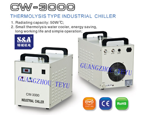 Laser Chiller For 80w Co2 Machine