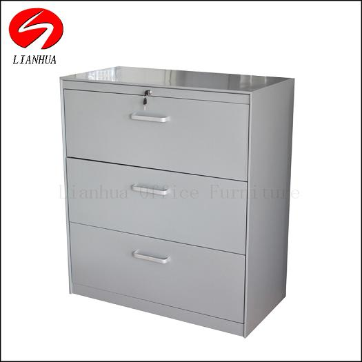 Lateral Steel File Cabinet With 2 Drawers
