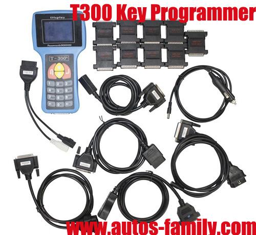 Latest Version 2013 6 T300 Key Programmer English V2013 Blue
