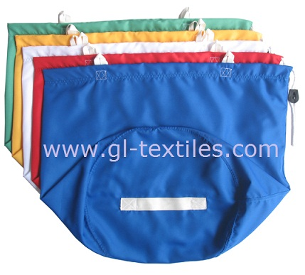 Laundry Bag For Hospital And Hotel Drawstring Bags Nylon Hampers Glb01