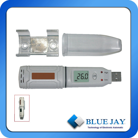 Lcd Screen Display 43 000 Log Readings Ip67 Temperature Data Logger With Usb Interface