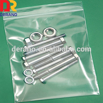 Ldpe Reclosable Grip Seal Bags