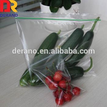 Ldpe Resealable Plastic Zip Lock Bags