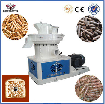 Leading Technology Power 90kw Biomass Pellet Extruder Machine