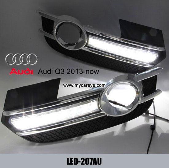 Led Daytime Running Light For Audi Q3 Driving Fog Lamp Drl Aftermarket