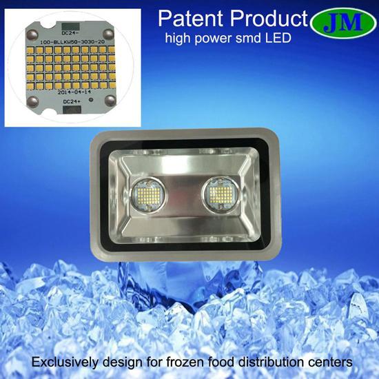 Led Flood Light For Cold Storage Freezer Applications