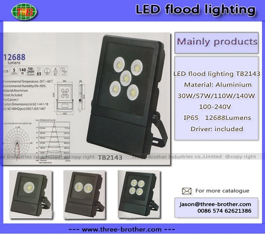 Led Flood Lighting Produce According To Customers Requirements